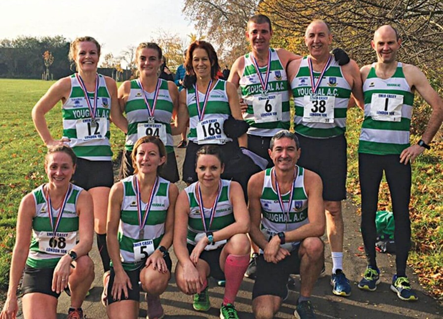 youghal ac emer casey 10k brockwell park 2019