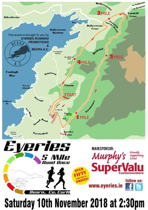 eyeries 5 mile route flyer 2018