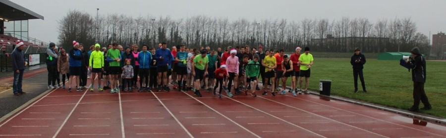 start of first goal mile 2018 cit track cork