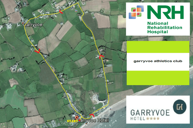 garryvoe 5k route 2017 copy