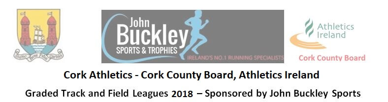 cork athletics graded leagues 2018 series header