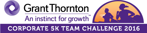 Grant Thornton Corporate Challenge 5k Logo 2016