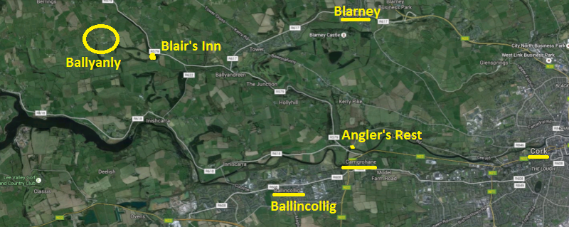 Inniscarra Community Centre - Location Map