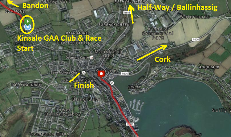 Kinsale Regatta 5 Mile Road Race - Race HQ