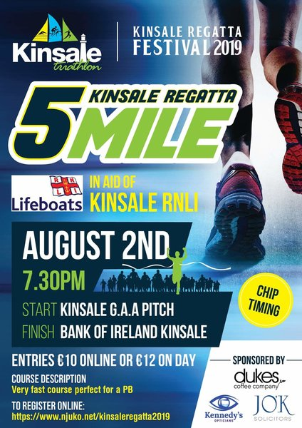 rsz 1kinsale regatta 5 mile road race flyer 2019