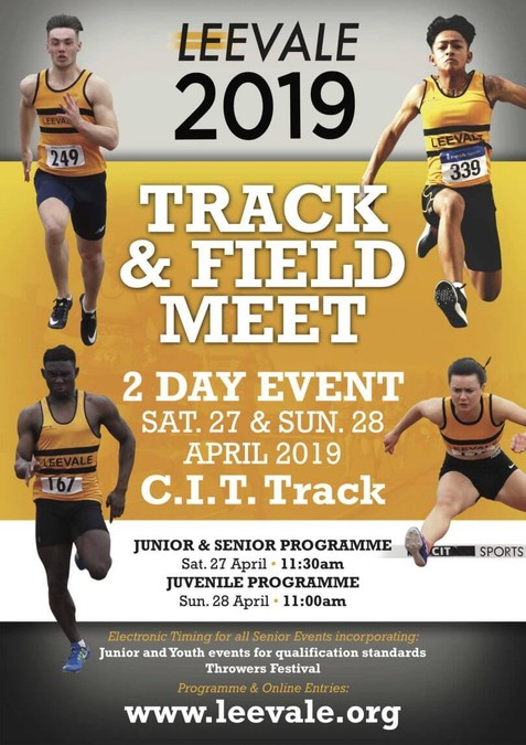 leevale ac track and field meet 2019