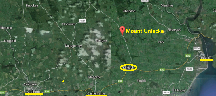 Mount Uniacke Location