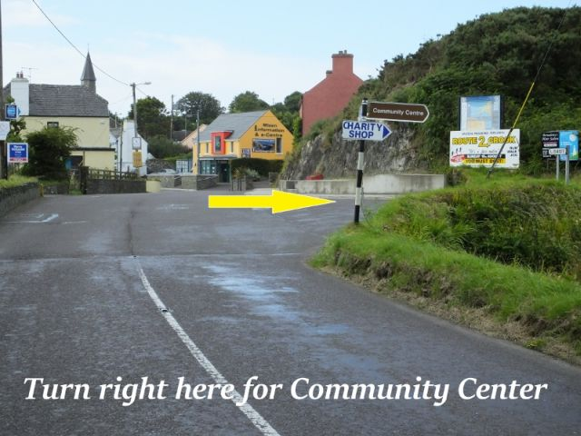 Directions to Goleen Community Centre b
