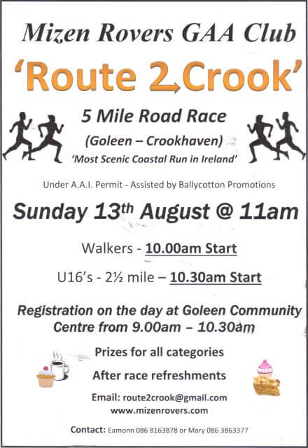 cork athletics registered route 2 crook 5 mile road race 2017a