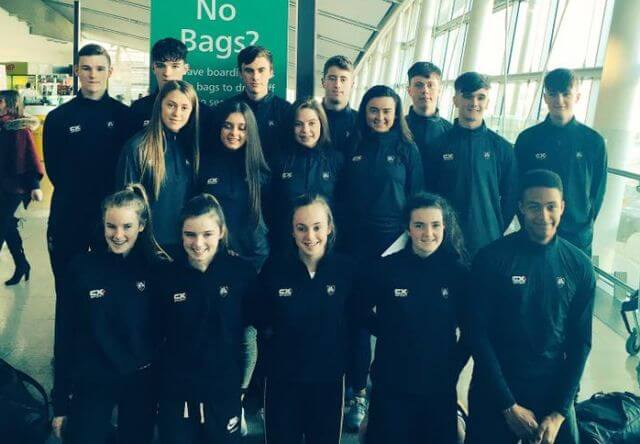 irish siab combined events team glasgow november 2017