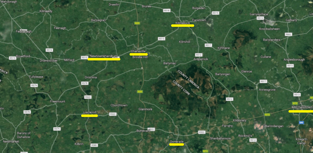 Newtownshandrum Location Map