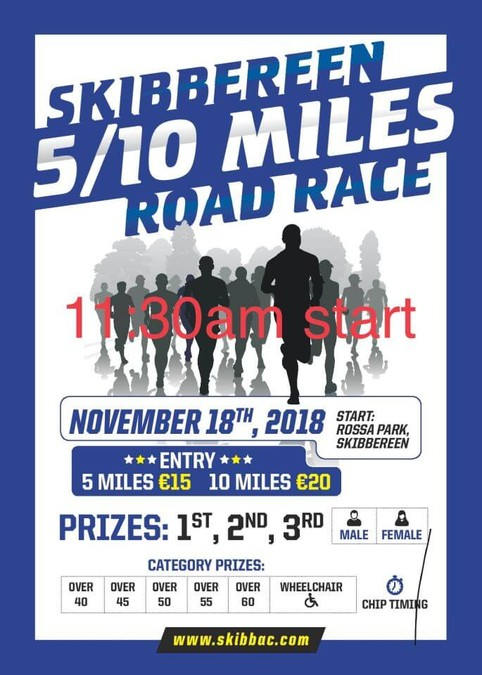 skibbereen road race flyer 2018