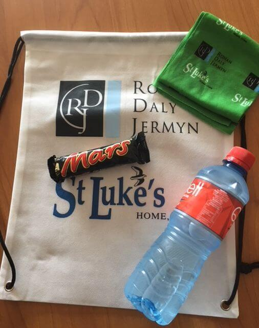 st lukes home 5k goody bag 2018