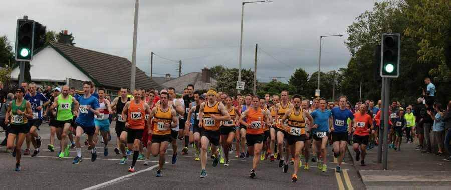 start of st lukes home 5k road race 2017