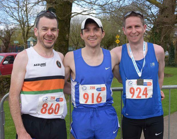 great railway run 2018 first three men