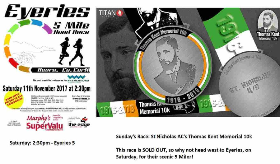 registered athletics road races weekend sunday november 12th 2017