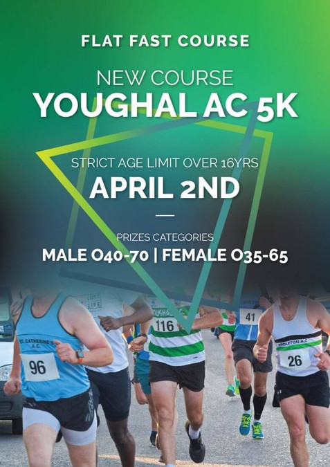 youghal 5k road race flyer 2020
