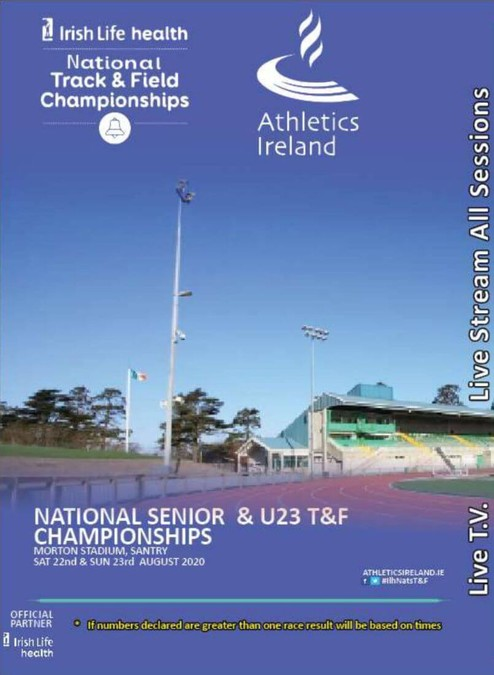athletics ireland national tandf chps 2020 flyer a