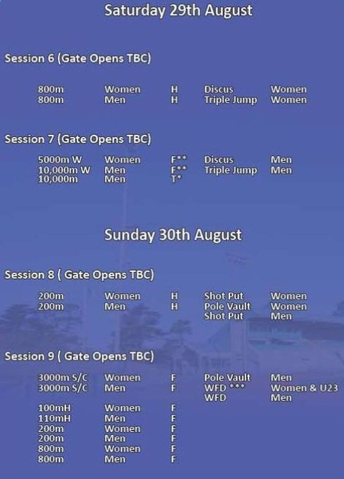 athletics-ireland-national-tandf-chps-2020-schedule-weekend-2