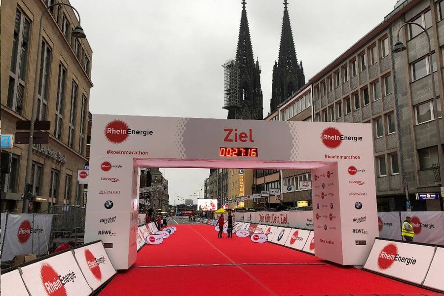 cologne marathon finish line