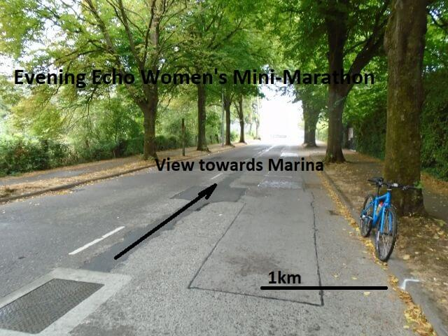 cork womens 6k mini marathon 1k mark