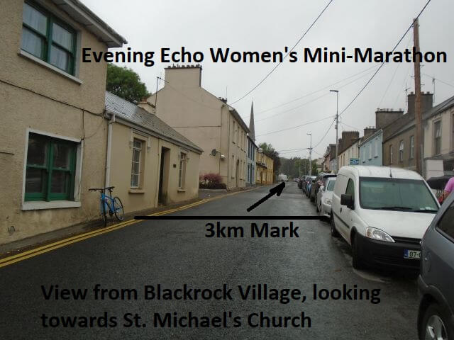 cork womens 6k mini marathon 3k mark