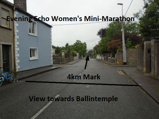 cork womens 6k mini marathon 4k mark