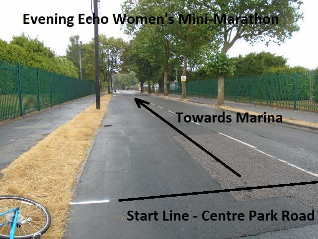 cork womens 6k mini marathon start line