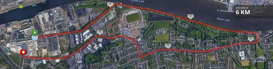 cork womens mini marathon route map 2018