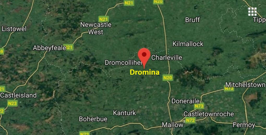 dromina general location map