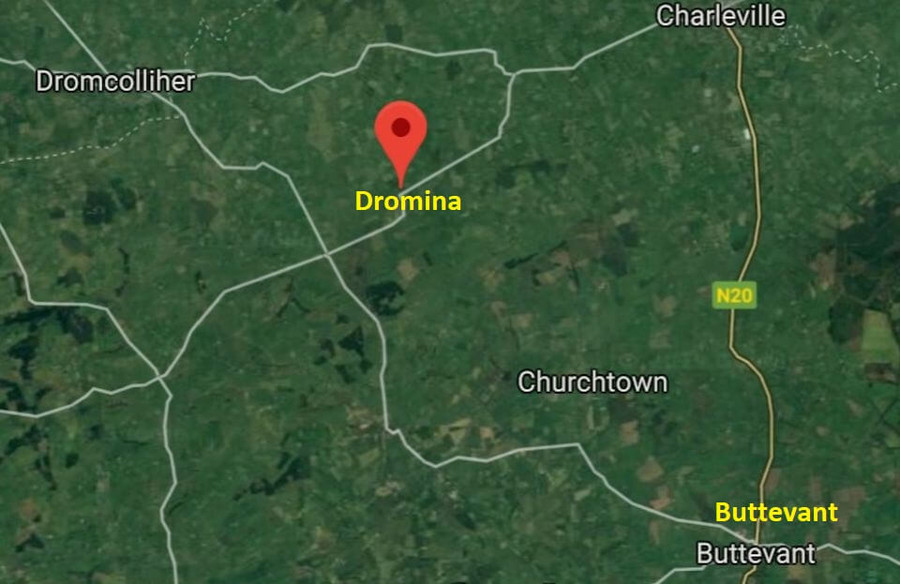 dromina location map