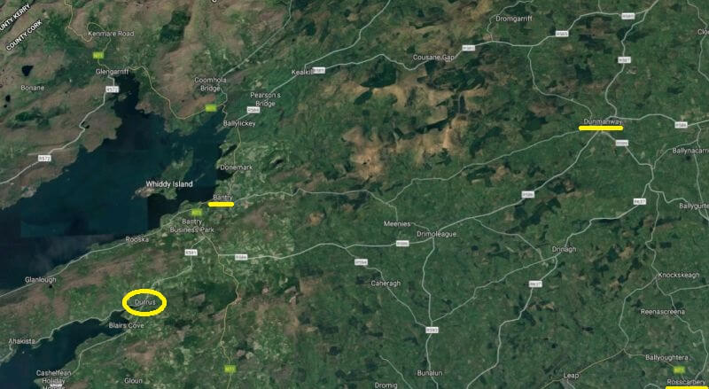durrus west cork location