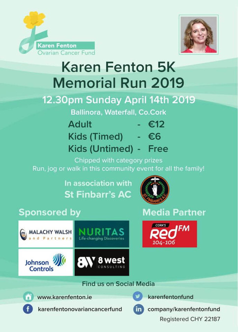 karen fenton 5k road race flyer 2019a