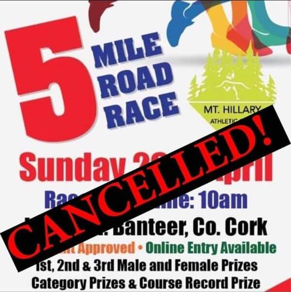 mt hillary ac 5 mile 2020 cancelled
