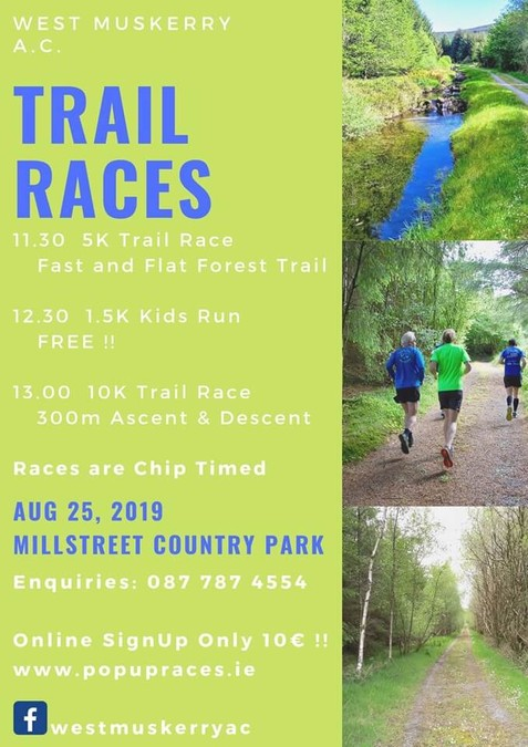 west muskerry ac trail races 2019