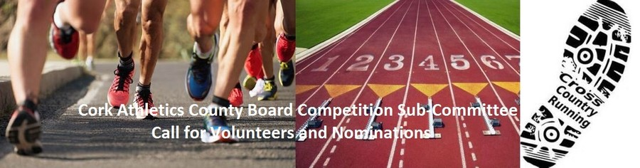 cork athletics competition subcommittee nominations 2020