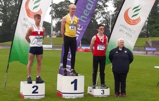 diarmuid o connor bandon ac national youth decathlon champion 2019
