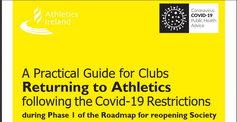 athletics ireland phase 1 guide for clubs may 13th 2020