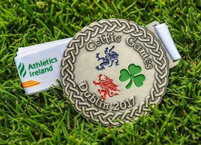 celtic games medal 2017