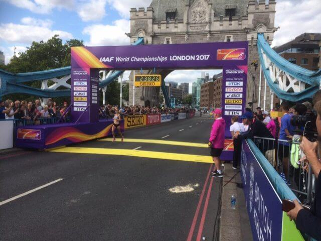 claire mccarthy world championship marathon london 2017