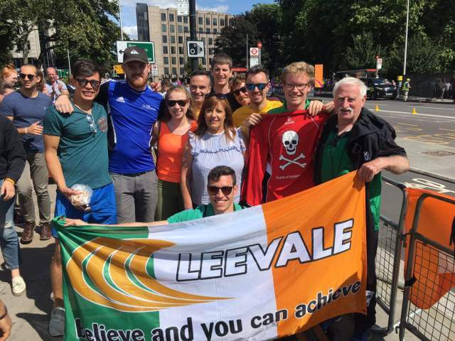 leevale ac world championship marathon support 2017