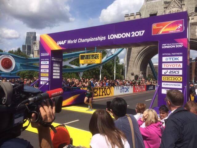 mick clohisey world championship marathon london 2017