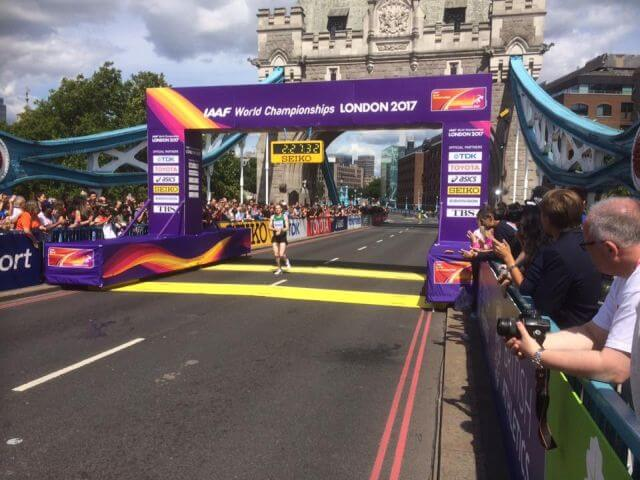sean hehir world championship marathon london 2017