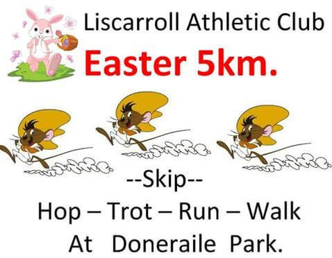 Liscarroll Easter 5k Flyer 2017 r