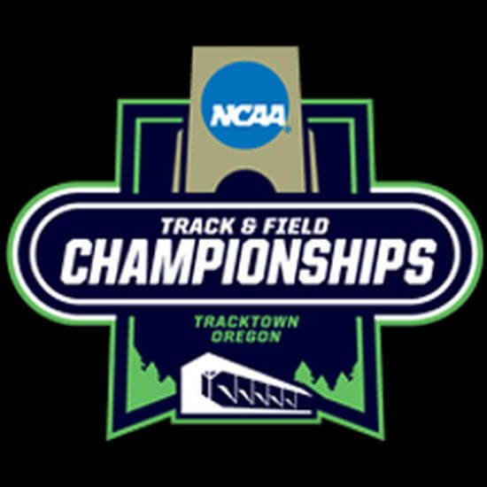 ncaa track and field championships logo