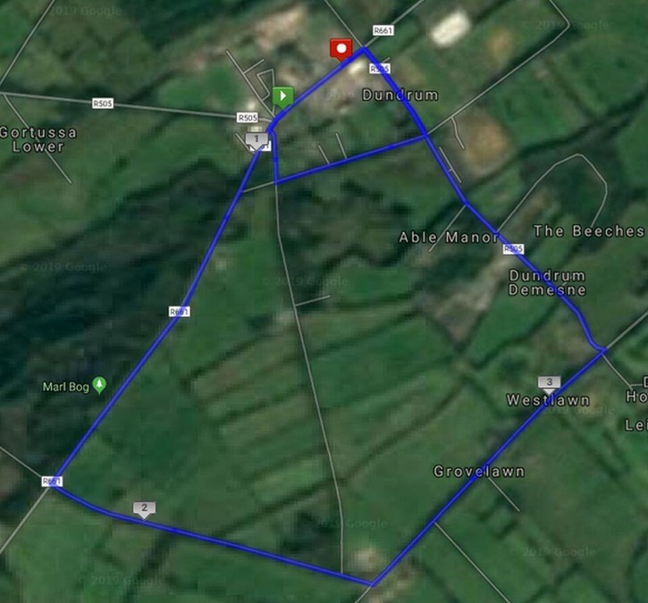 munster road championship course map 2019a