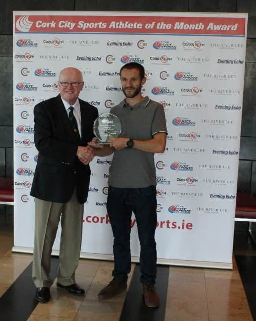 Alex Wright Cork City Sports Athlete of the Month January 2017