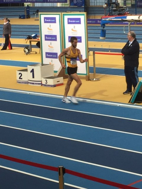 Alex Wright Leevale AC National Indoor 5k Race Walk Champion 2017