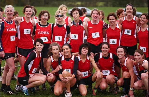Cork Womens Cross Country Team Beaufort 2013 Midleton AC min
