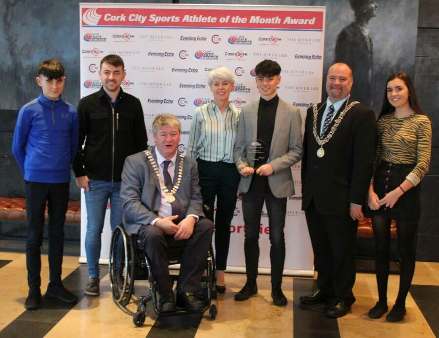 darragh mcelhinney cork city sports athlete of the month november 2018 29
